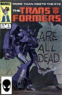 Transformers magazine cover